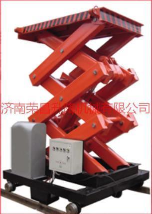 供应电动式液压升降机 单立柱铝合金升降机 车载折臂式升降机 汽车举升机