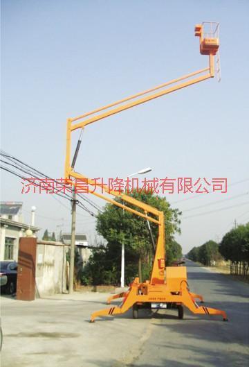 供应自行折臂升降机 移动式升降台 固定式升降机 自行走式升降平台 电动平车 铝合金升降舞台