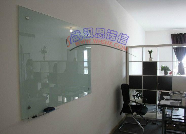 供应超白玻璃白板钢化玻璃白板磁性玻璃白板武汉玻璃白板