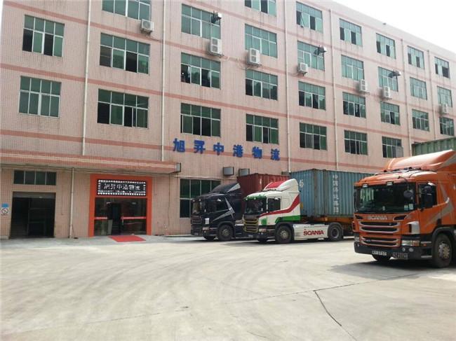 旭昇中港物流中港特种运输大件货运输快速香港矮排车运输