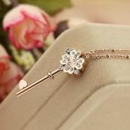 宝格丽项链弹簧项链14K玫瑰金项图片