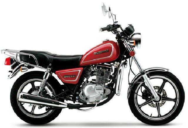 供应豪爵铃木红宝um125t摩托车