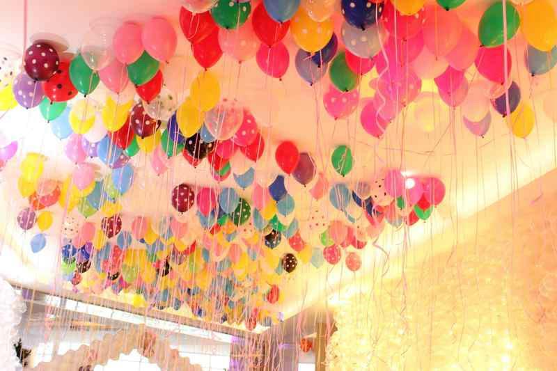 节日气球造型图片