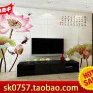 客厅电视背景墙玄关文化石仿古砖图片