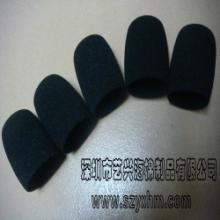 供应播音棉、话筒套海棉、海棉一次成型