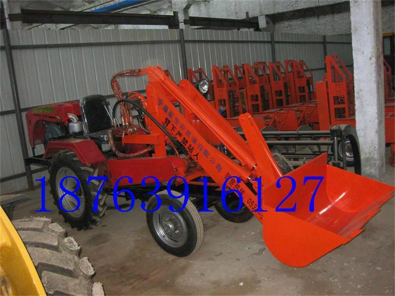 小铲车 小铲车 供货商 供应拖拉机改装全新小 高清图片