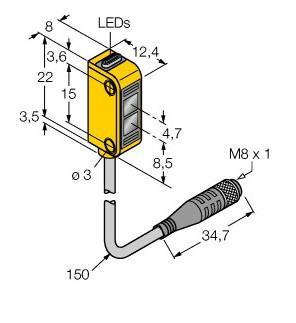 供应EOIR60m-BT30-6X光电传感器
