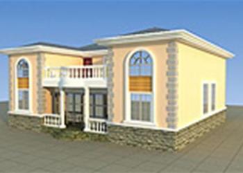 供应两层房屋自建房住宅楼房建筑施工图二层房屋楼房设计图施工图059图片