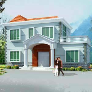 供应二层别墅楼房设计图纸全套施工图二层自建房设计图二层房屋图纸039
