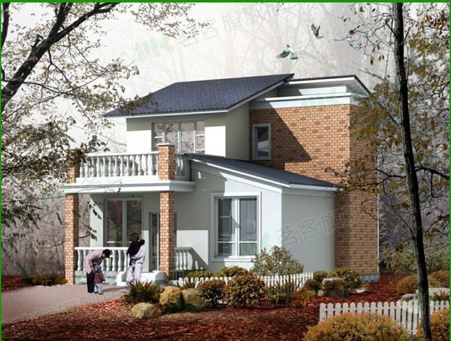 二层别墅房屋自建房住宅楼房设计图纸效果图全套cad施工图104
