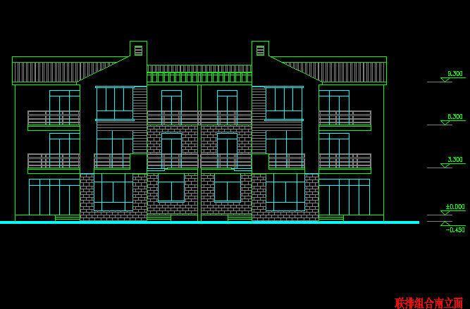 东莞市图纸图纸图纸露台v图纸厂家双拼消防楼房别墅不符与装饰建筑图片