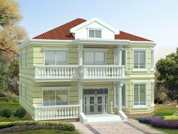 二层别墅房屋自建房住宅楼房设计图纸效果图全套cad施工图纸038