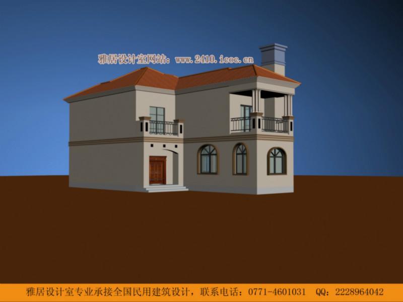 供应二层别墅楼房设计图纸全套施工图二层自建房设计图二层房屋图纸083