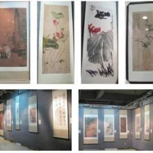 供应北京宣纸打印  宣纸艺术微喷 古画高仿艺术微喷