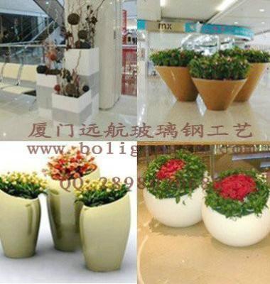 玻璃钢景观花盆图片/玻璃钢景观花盆样板图 (2)