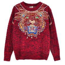 供应电脑绣花毛衣加工专注时装周大牌款毛衣针织衫设计定做加工