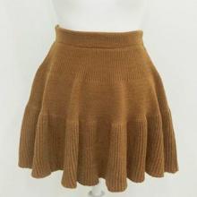 毛织生产厂家及公司毛衣加工批发毛织半身裙短裙针织品加工订制