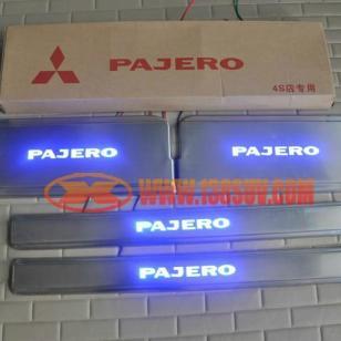 三菱帕杰罗带灯迎宾踏板图片