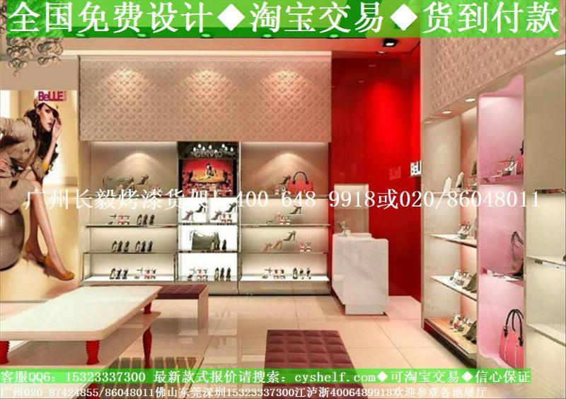 供应最新鞋店装修国外鞋店面装修设计图高清图片