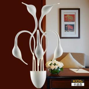 现代个性餐厅客厅壁灯饰图片