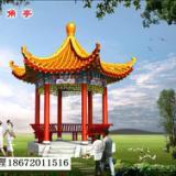 供应陕西专业设计六角亭公司,西安六亭角施工电话,西安六亭角工程造价