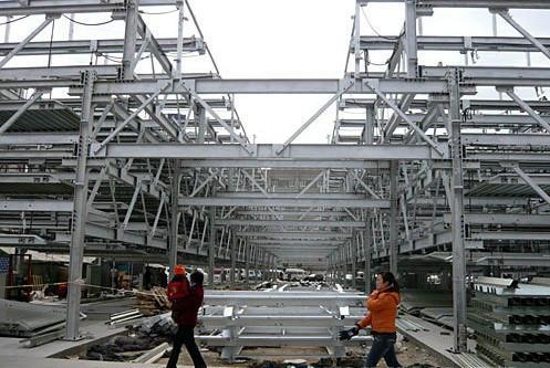 钢结构立体车库/停车设备价格|批发|报价