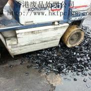 外贸退单废品销毁处理图片