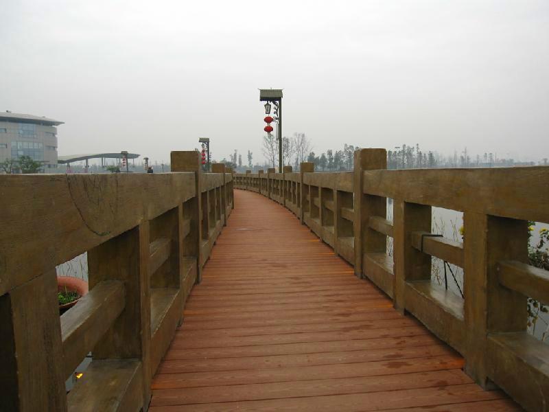供应贵州遵义塑木护栏,贵州遵义塑木护栏价格,贵州遵义塑木护栏安装