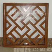 供应格栅吊顶铝合金仿木装饰材料批发
