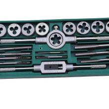 供应20件机用丝锥板牙套装批发