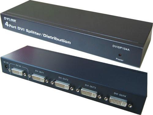 供应4口DVI分配器图片