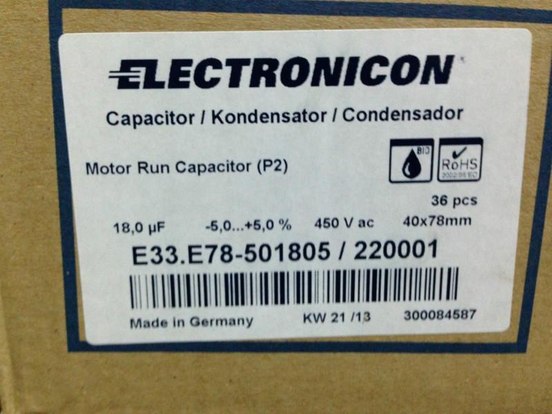 德国原厂Electronicon进口电容E62.C58-402E10