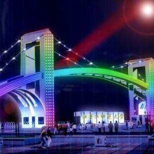 内蒙古伊金霍洛旗LED亮化工程图片