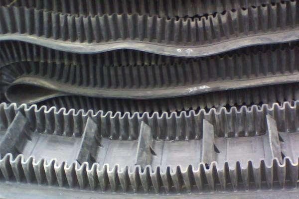 供应钢丝绳芯挡边带,波纹挡边输送带