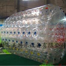 游乐场大型充气水上玩具-水上滚筒价格