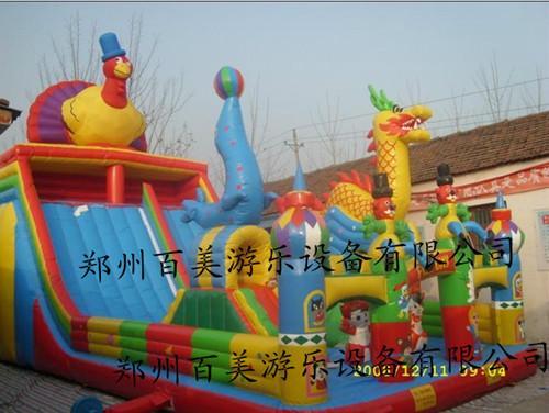 内蒙古儿童充气城堡大滑梯价格,充气城堡大滑梯价格批发