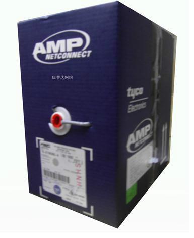 供应安普超五类非屏蔽网线219586-4