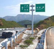 广西钦州波形钢护栏供应现货工厂直销 波形钢护栏板图片