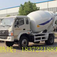 宁波哪有国4福田3-4方小型搅拌车图片