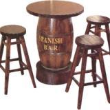 供应南京碳化木桌椅合肥酒吧桌椅烟台户外桌椅临沂户外家具