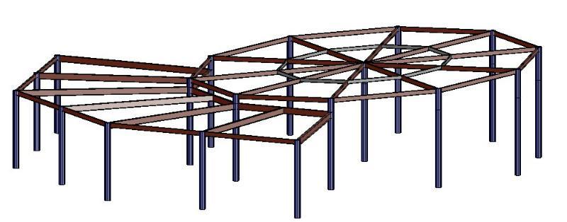 钢结构造型设计