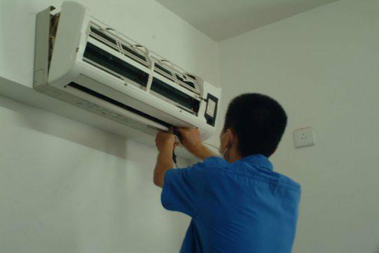 济南空调移机价格_济南专业 空调 充氟图片