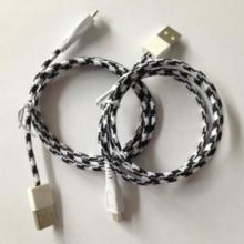 批发棉编织USB数据线厂家批发