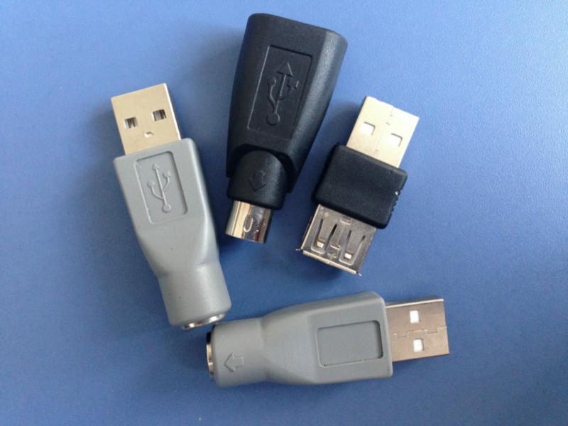 供应USB转PS2转接头厂家