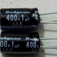 供应Rubycon红宝石电容400LLE1M