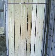 河南钢木质高低床图片