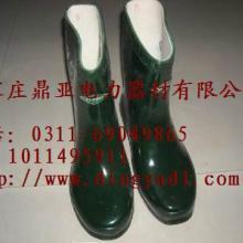 25KV高压绝缘短靴(鞋),电工绝缘鞋,电力施工安全防护鞋,河北厂家