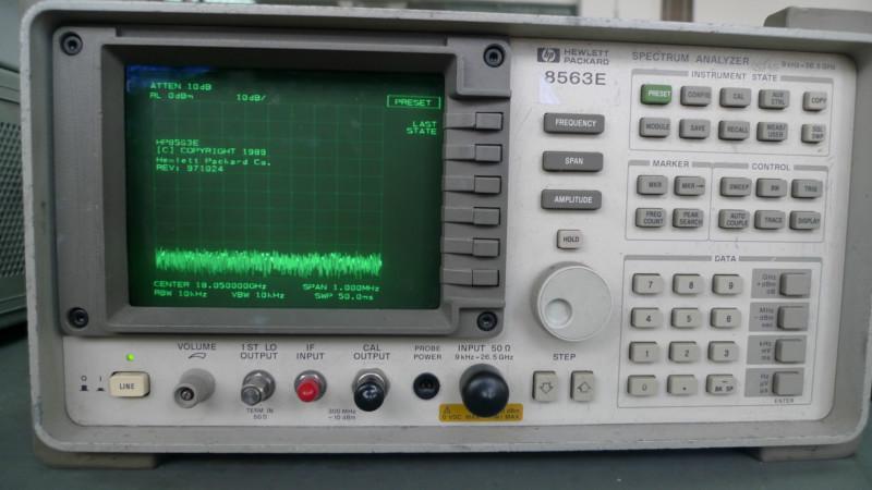 供应8560E系列频谱分析仪,8563E频谱分析仪,8563E频谱