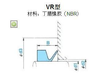 VR型NOK产密封件销售
