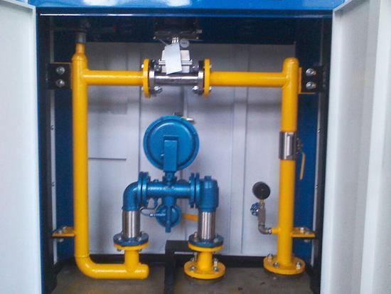 供应燃气调压箱调压柜燃气装置图片
